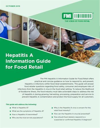 Hepatitis A Informational Guide for Food Retail